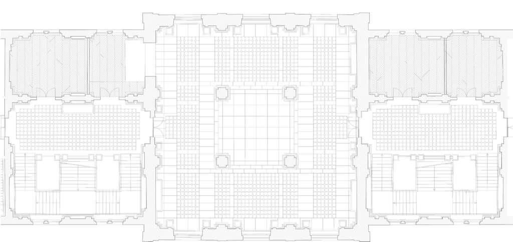 392 Grundriss Obergeschoss Bodenspiegel